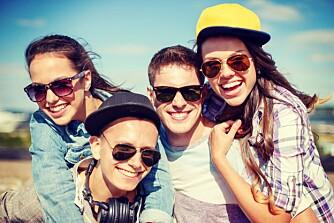 SOSIAL GJENG: De fleste barn, ungdom og voksne har en personlighet som varierer etter hvilken situasjon de befinner seg i, og hvilke mennesker de er sammen med. Derfor har flertallet en ambivert personlighet.