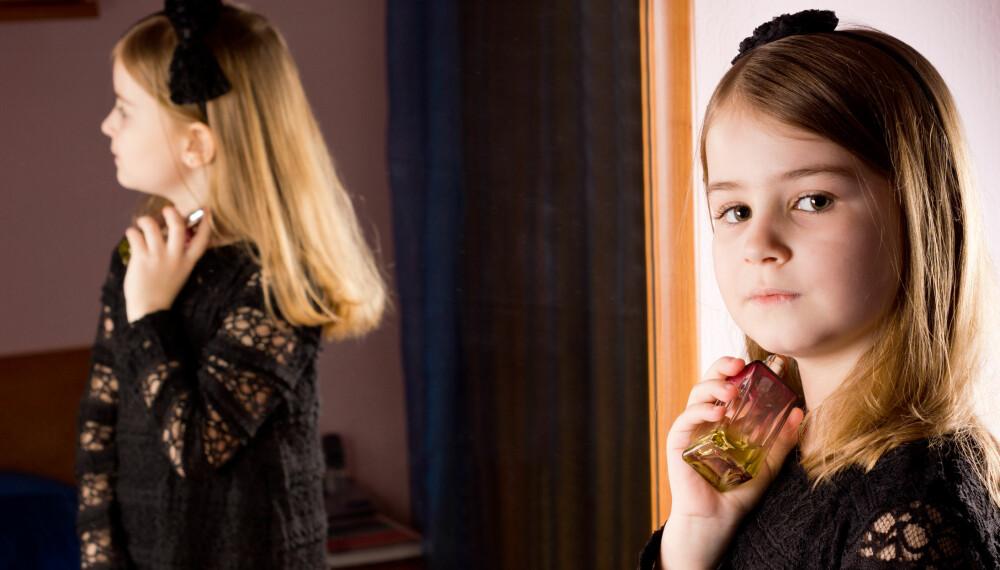 BALANSERER GODT: Barn mellom 8-12 år er hverken små barn eller ungdommer. Mange foreldre mener de utsettes for utseendepress, men mange av barna balanserer godt mellom barn og ungdom.
