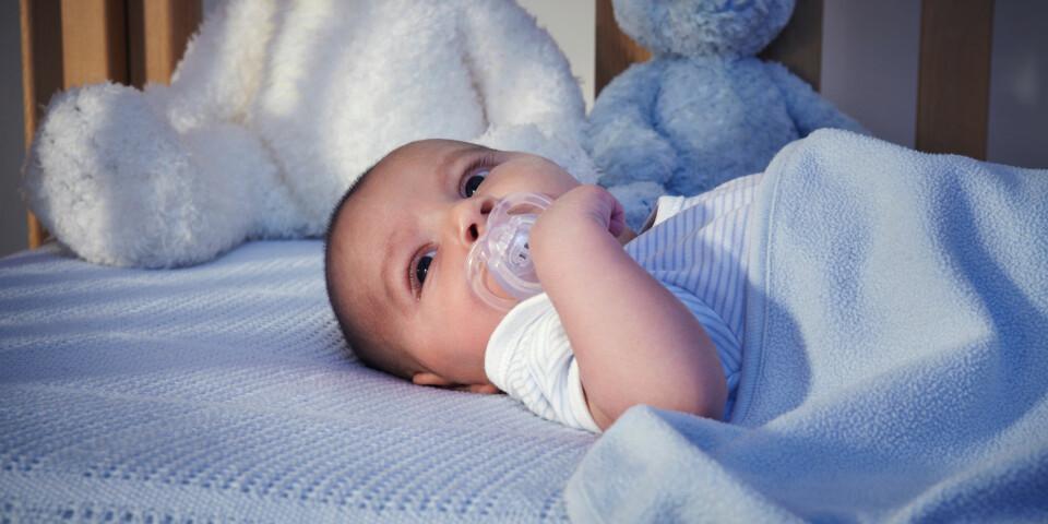 d78198cc BABY VIL IKKE SOVE: Det er alltid en grunn til at babyen ikke vil sove