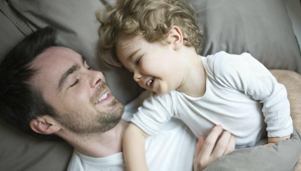 PAPPADALT: Barnet kan komme til å favorisere selv om begge foreldrene har et normalt bevisst forhold til seg selv og egne grenser – og begge bruker tid sammen med barnet.