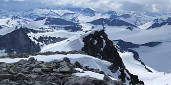 9862acef HØYT: Galdhøpiggen er det høyeste fjellet i Norge.