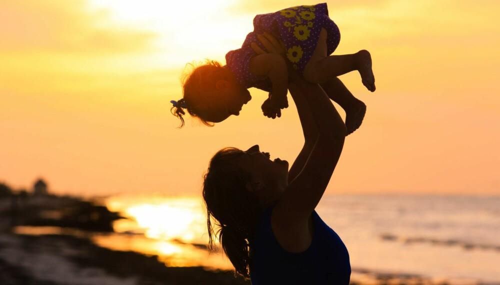 EGGDONASJON: For at Anette skulle bli mamma til Maria, måtte hun få hjelp av en spansk kvinnes donoregg.