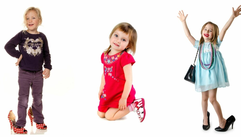 SELVKLEDD: Resultatet kan variere om barna får velge klærne selv. Men gjør det noe?