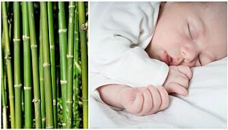 BAMBUSKLÆR TIL BARN: Markedsføringen av bambusklær fremstiller stoffet som naturlig, miljøvennlig og antibakterielt. Men strengt tatt er det bare snakk om helt vanlig viskose. Foto: Colourbox.com.