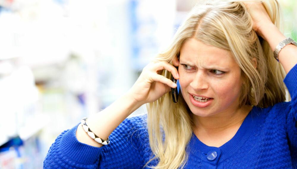 SINNA: Kvinner som ikke har god nok kontroll på sinnet sitt, kan vise det i form av verbal trakassering, hyling og skriking.