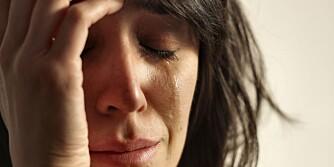 TÅRER: Det er ikke bare en myte at kvinner gråter mye mer enn menn.