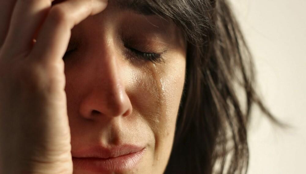 TÅRER: Det ligger mye makt i å gråte, men kun når den er ekte.