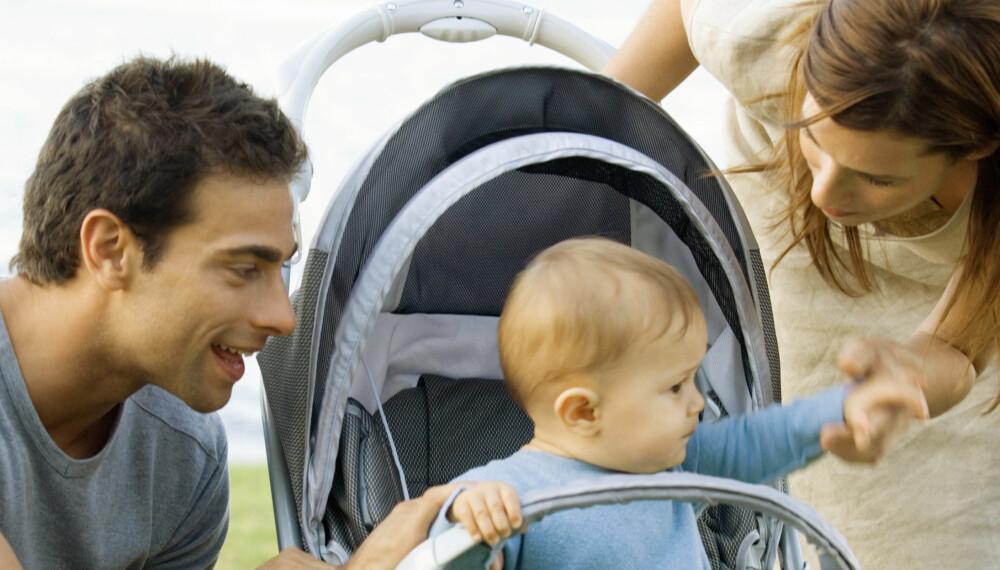 IKKE BARE FORELDRE: Husk at selv om dere har barn er det lov til finne på ting alene også. Det bevarer det gode forholdet dere imellom, mener ekspertene.