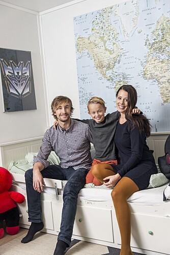 TO FORELDRE: Tobias har to foreldre på fulltid, selv om han bytter på å bo hos dem.