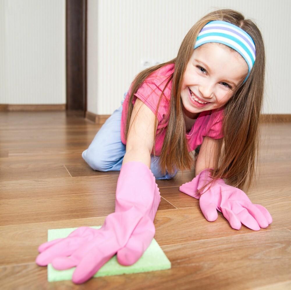 INDRE MOTIVASJON: Barn vil hjelpe til fordi de synes det er gøy.
