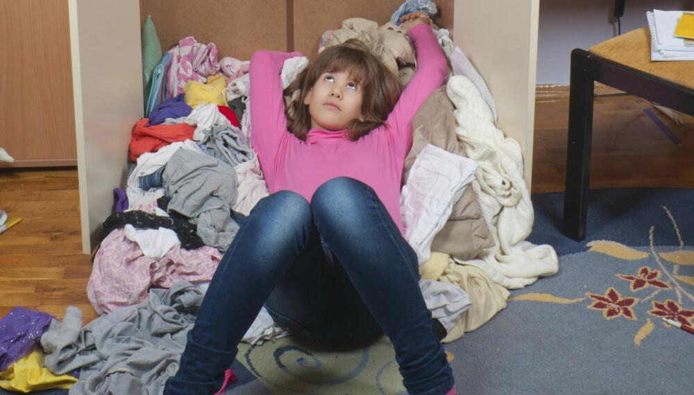 HUSARBEIDETS TID FORBI: Før i tiden måtte barn bidra i hjemmet. Slik er det ikke lenger.