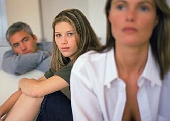 KONFLIKTER: Mange foreldre til tenåringer opplever det som skambelagt å ikke mestre foreldrerollen.