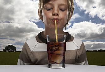 BEGRENSE, IKKE ERSTATTE: Du gjør barna dine en bjørnetjeneste hvis du tenker at kunstig søtstoff gjør brus mer hverdagslig.