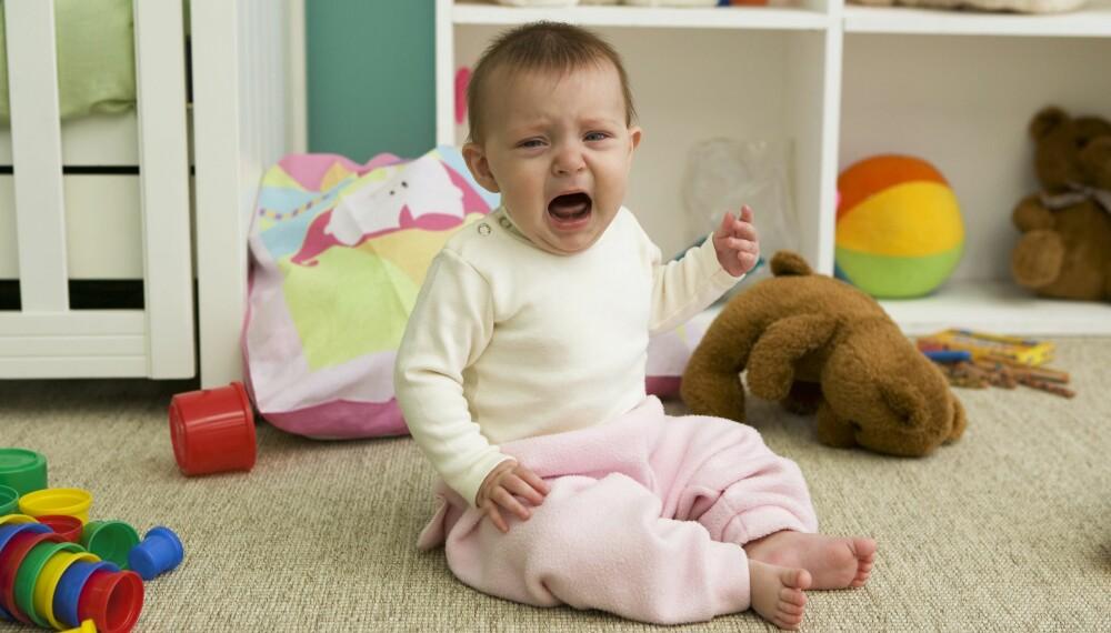 UNATURLIG Å DELE: Å dele på leker er noe barn må lære, men bruker du tvang kan det virke mot sin hensikt.