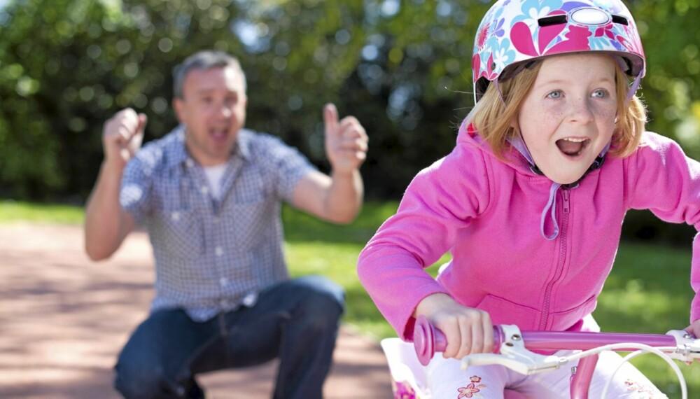 Mobbing: Akkurat som sykling, er indre styrke noe du selv kan lære barnet ditt.