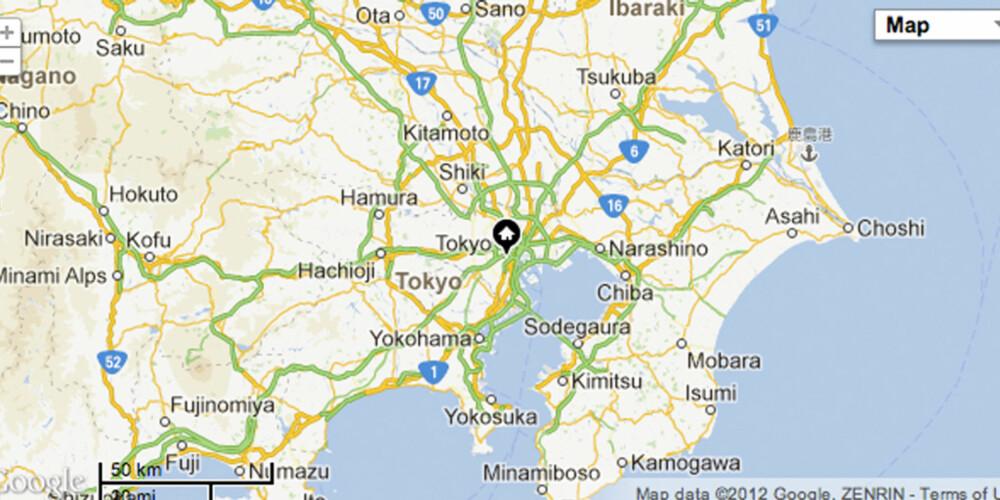 TRANGT OM PLASSEN: Det er mange som skal bygge og bo i Tokyo - sånt blir det dyre leiligheter av.