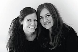 STRIKKEOPPSKRIFTER: Hanne Andreassen Hjelmås og Torunn Steinsland