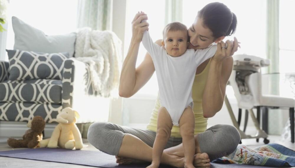 DELTID: Det er kvinnene som gir opp karrierene når de får barn, uansett utdanning.