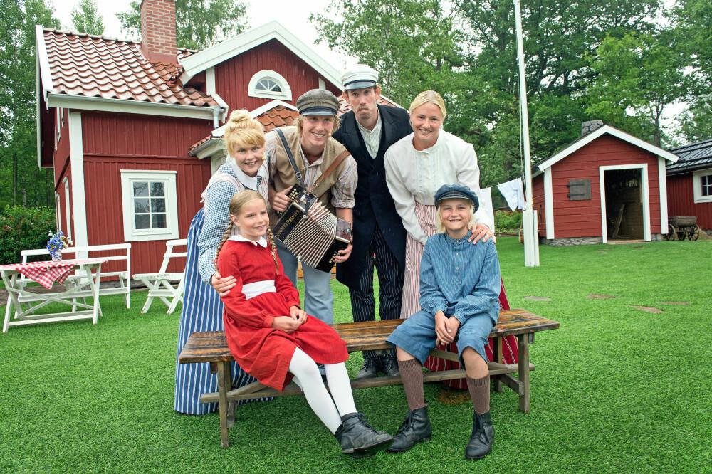 HJEMME HOS EMIL: Hva med et besøk hos Emil og Ida i Lønneberget? Så får vi se om Ida havner i flaggstanga eller Emil sette hodet fast i suppebollen..
