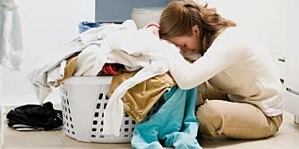 TIDSTYV: Bedre klesvask-logistikk kan være nøkkelen til mindre stress og et bedre samliv.