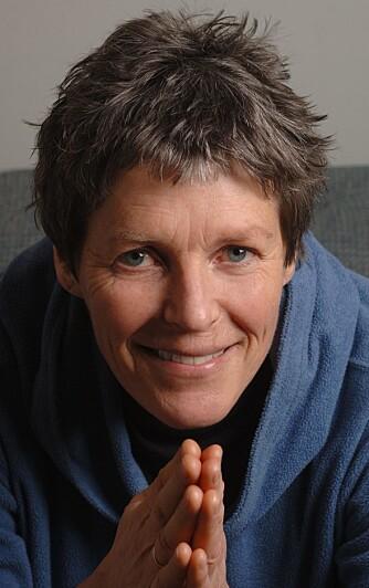 POLARHELT: Liv Arnesen var første kvinne som gikk alene på ski til Sydpolen.