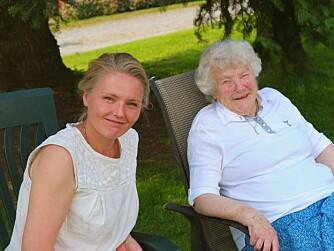 STERK BESTEMOR: Karianne Gamkinn velger å trekke fram sin bestemor, som har hatt stor innflytelse på henne.
