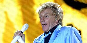 GAMMEL PAPPA: Rod Stewart fik nylig sitt åttende barn i en alder av 66 år.