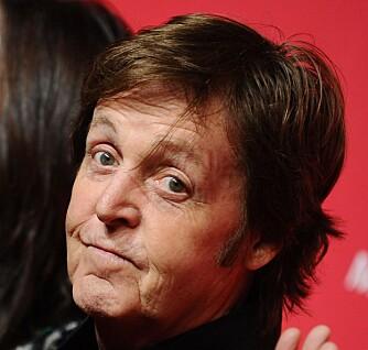 GAMMEL PAPPA: Paul Mcartney er en av mange kjendiser som har full barnekull nummer to i godt voksen alder.