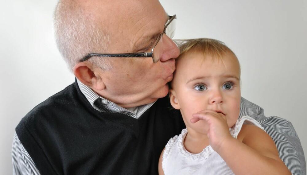 ELDRE FEDRE:  Barn av eldre fedre har større sjanse for å få hjertedefekter, autisme, schizofreni og epilepsi, og barnet har dobbelt så stor sjanse for å dø før voksen alder, viser forskning.