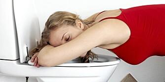KVALME: Kvalme er et av tegnene på at du kan være gravid.