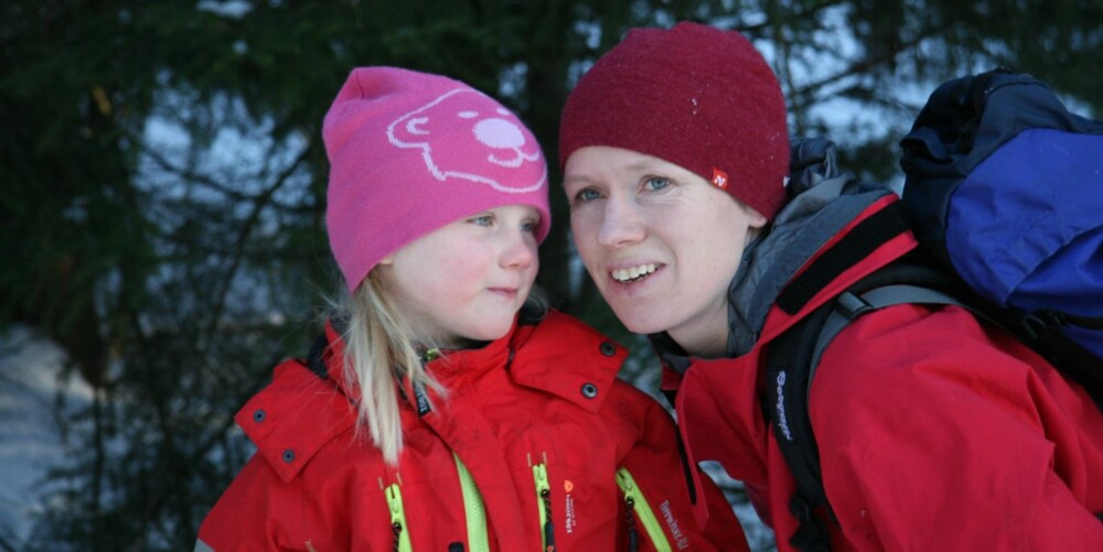 UTEJENTER: Mor og datteren får minner for livet og tette bånd av å være på tur sammen i et halvt år.