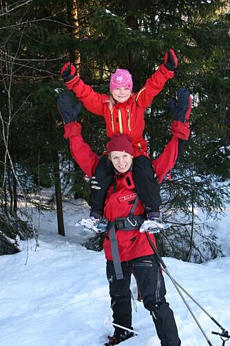SEIER: Det er grunn til å være stolt når man har gått langt på ski og sovet mange netter utendørs!