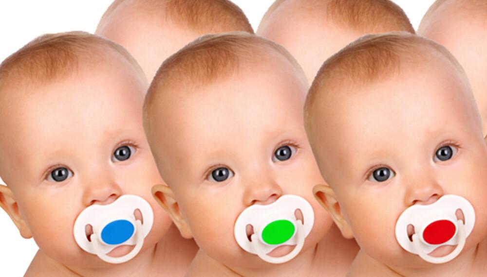 DRØMME-DONOR: I utlandet kan du velge donor ut fra både lydklipp, babybilder og informasjon om hobbyer og fremtidsdrømmer.