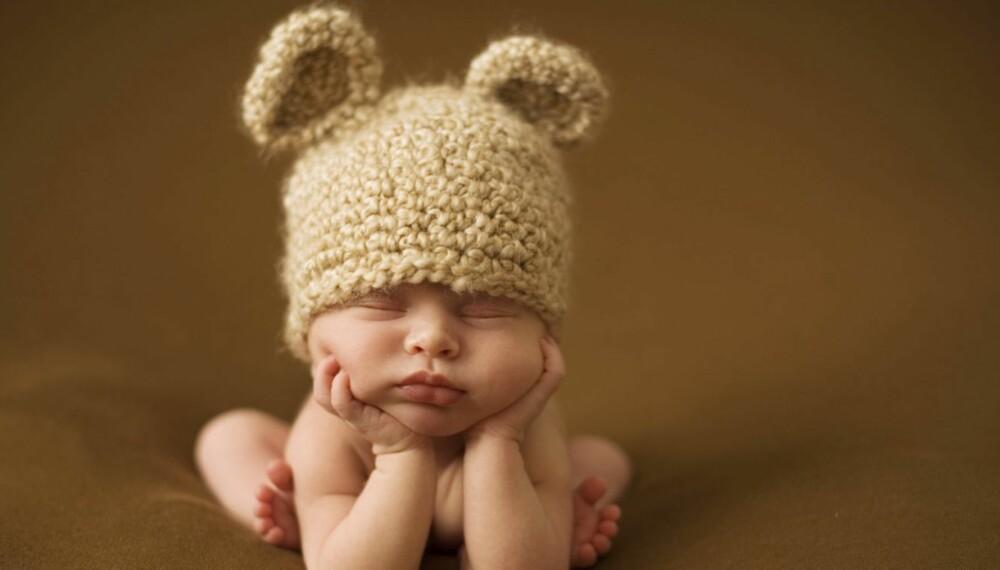 VANSKELIG NAVNEVALG: Hva skal den lille hjerteknuseren hete? Kanskje Arwen eller Nemi?