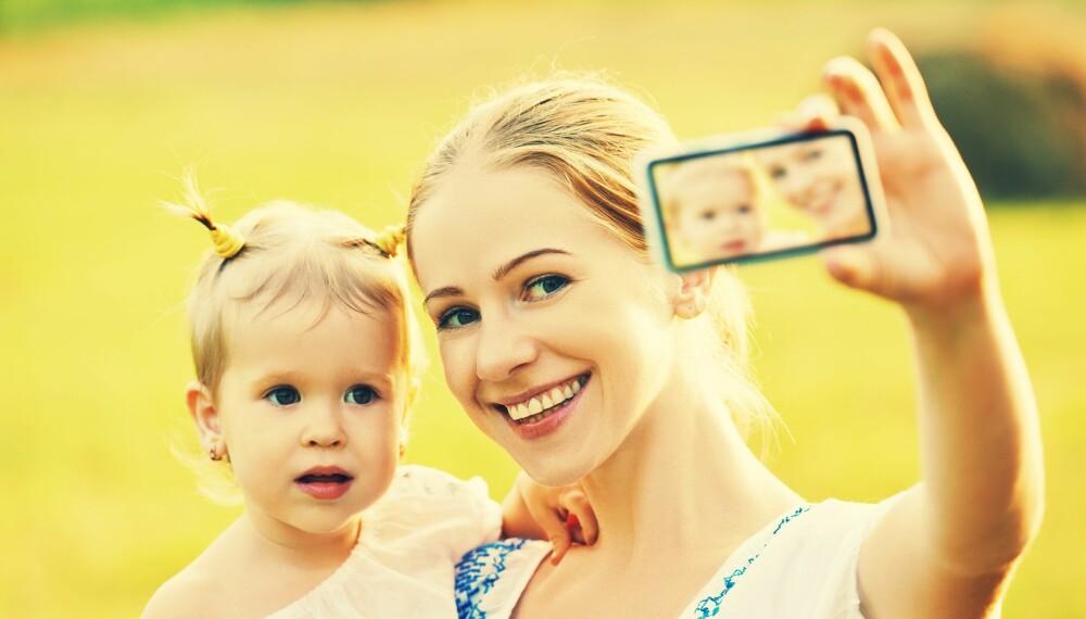 FILTERNAVN: Duse eller fargerike filtre som blir lagt på oppstilte selfies er noe vi er vant til å se på Instagram. Nå får også ungene navn etter filtrene.