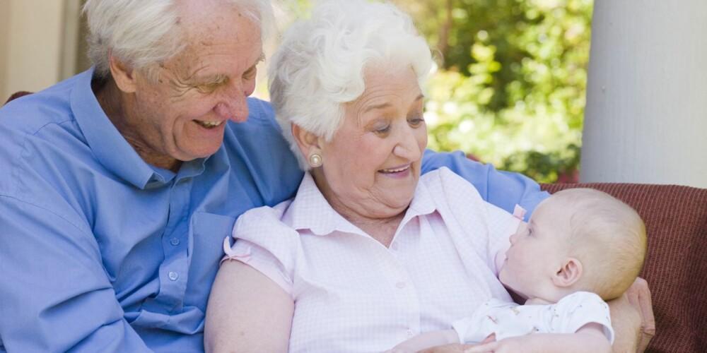 OPPKALT ETTER OLDEMOR: Kall opp barnet ditt etter olde- eller tippoldeforeldre hvis du vil gi ham eller henne et originalt navn.
