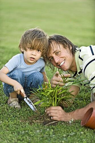 NAVNEPROFIL: Nybakte foreldre tegner det bilde de ønsker av seg selv, gjennom navnevalg for gullungen, ifølge en svensk doktorgrad.