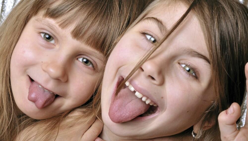 VESLA OG TULLA: Mange barn får kallenavn i ung alder som henger ved dem. I dag er det vanlig med ulike kallenavn i ulike miljøer.