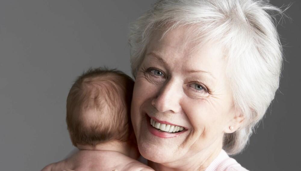 NAVN FOR FLERE GENERASJONER: Det er ikke ofte bestemor og barnebarn har samme navn lenger, men noen navn fungerer faktisk like godt i alle generasjoner.