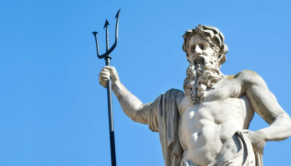 HAVGUD: Det er kanskje ikke så mange foreldre som vil velge navnet Neptun til sin håpefulle, men det er mange andre romerske navn å velge mellom.
