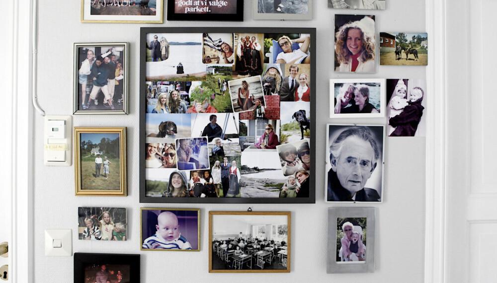 BRUK BILDENE: Skap et personlig hjem med dine egne bilder!