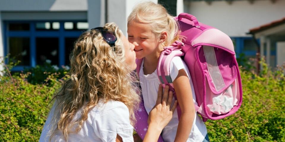 SKOLESTART: Skolestart og første skoledag er rett rundt hjørnet. Her er gode råd på veien.