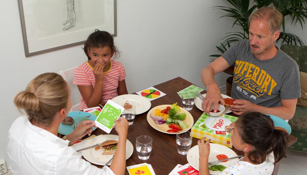 Matro er et spill som skal hjelpe småbarnsforeldre til å skape hyggelige måltider og matglede hos de små.