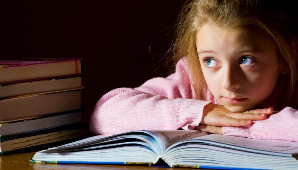 LÆREVANSKER: Hvis barnet ditt sliter på skolen, kan det være nattesøvnen som er årsaken.