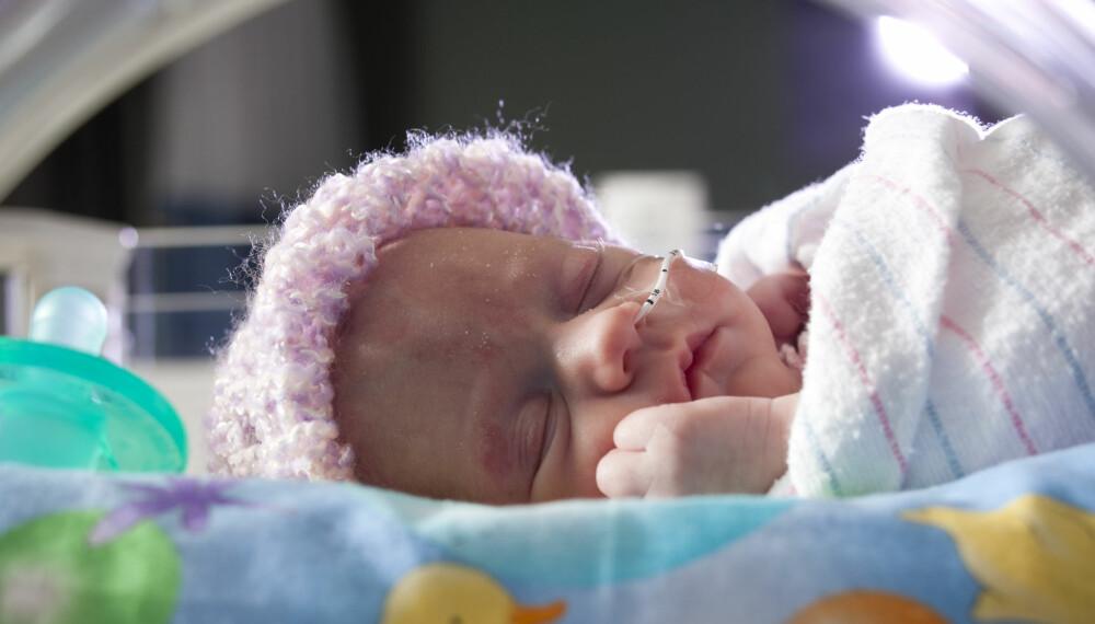 PREMATURE BARN: Foreldrene til premature barn har en større utfordring i samspillet med barnet sitt enn foreldre til fullbårne barn.