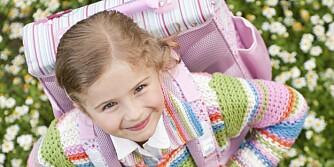 SKOLEKLAR: August betyr skolestart. Før barnet ditt begynner på skolen, kan det være lurt å øve på en del praktiske ferdigheter.