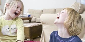 MORO: Ikke noe er så morsomt som bæsj og tiss for barn.