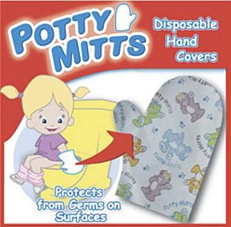 DO-HANSKER: Barn tar gjerne på doringen når de skal på do. Synes du det er veldig ekkelt, kan du ta et par do-hansker på barnet.