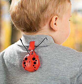 BEEP-BEEP: Finner du ikke ungen, kan en Toddler-Tracker være løsningen.