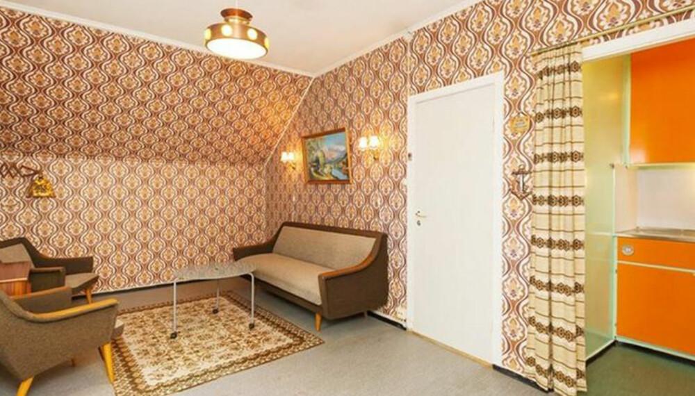 70-TALLS DRØM: For alle som elsker retro-stilen: Denne leiligheten ville vært drømmehjemmet ditt.